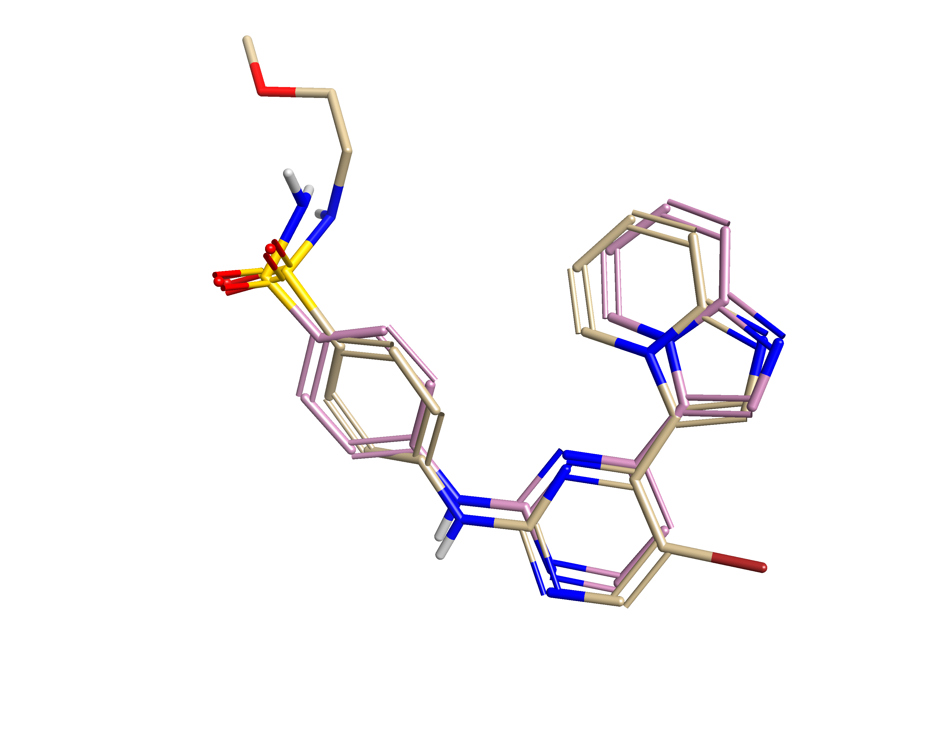 Figure 1_ Alignment of PDB1OIT ligand