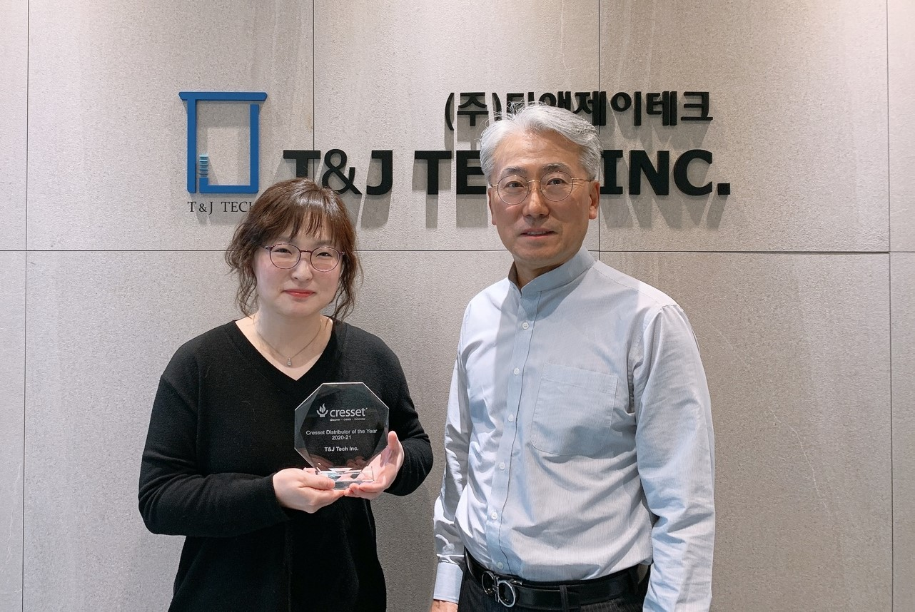 T and J Tech winners of distributor of the year 2020-21