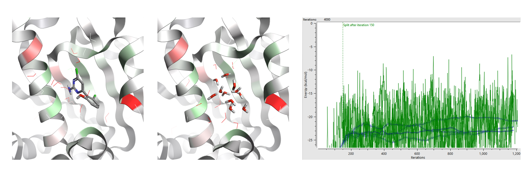 WaterSwap is a thermodynamic integration method for investigating ligand-protein energetics