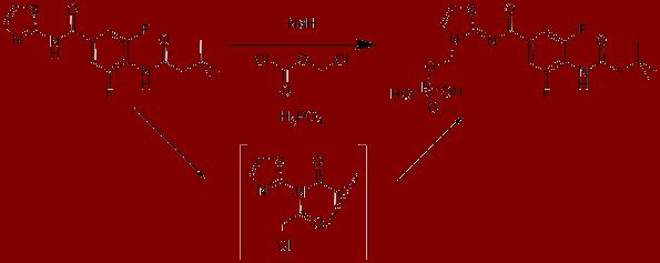 Synthesis of phosphonomethyl prodrug