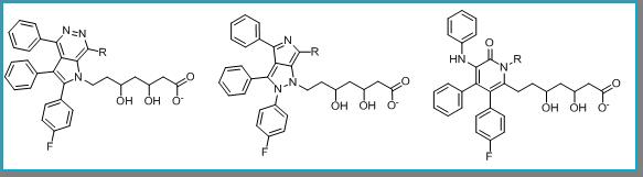 Atorvastatin bioisosteres