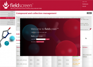 Screenshot of elements of FieldScreen 2.6.0 interface