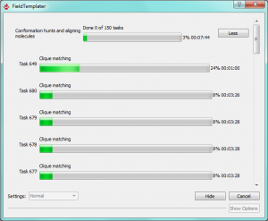 FieldTemplater v3 running on multiple processors