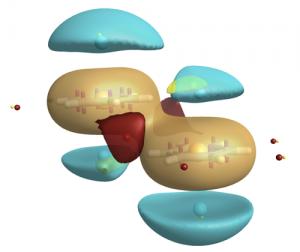 Correct field pattern around benzene