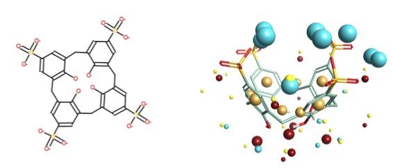 p-sulphonic calix[4]arene