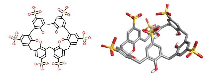 p-sulphonic calix[6]arene