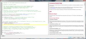 Forge_10.3_release_script_editor