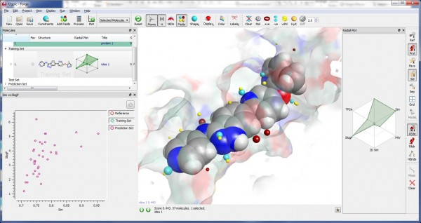 3D molecule and data visualization in Forge