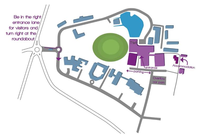 Granta Centre map