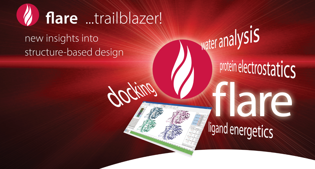 Cresset releases Flare: Powerful structure-based design application with outstanding new methods for protein-ligand systems